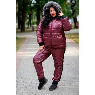 Зимний спортивный костюм большой размер
