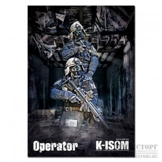 K-ISOM Постер Poster K-Isom KSK SEK Operator