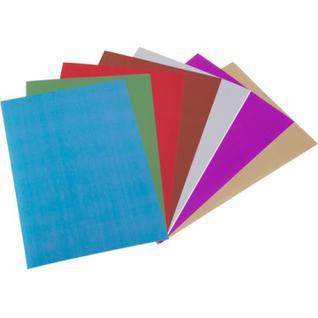 Набор цветной бумаги 7цв,7л,А4,зеркальная,набор№12,11-407-66