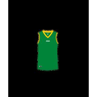Майка баскетбольная Jögel Jbt-1020-034, зеленый/желтый, детская размер YS