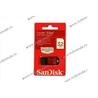 Флеш накопитель USB32Гб SanDisk Cruzer Edge