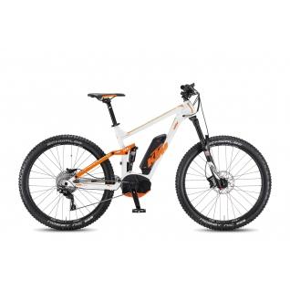 Электровелосипед KTM 2016 Macina Kapoho 27.5+ 11 CX5, white/orange/green