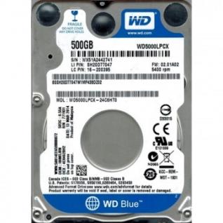 Жесткий диск WD Original SATA-III 500Gb Blue (WD5000LPCX)