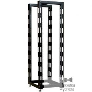 Цмо ЦМО! Стойка телеком. универсальная 33U двухрамная, цвет черный (СТК-33.2-9005) (1 коробка)