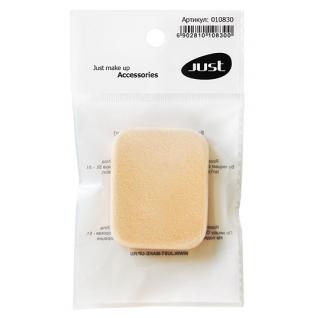 Спонж для тонального крема JUST прямоугольный - 010830