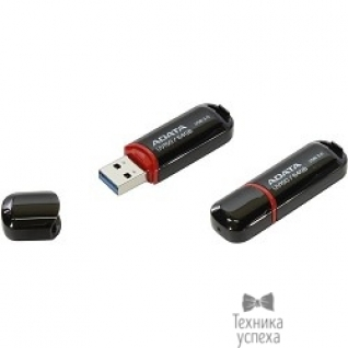 A-data A-DATA Flash Drive 64GB UV150 AUV150-64G-RBK USB3.0, Black