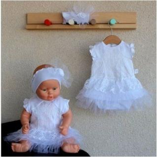 """Боди-платье """"Baby-Fly"""", цв. белый"""