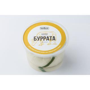 ТМ KO&CO Сыр мягкий Буррата 200гр
