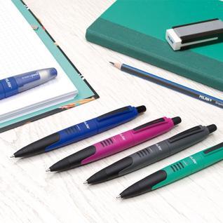Ручка шариковая MILAN Compact, 1,0мм, красный, 17656890320