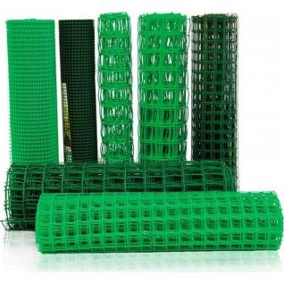 Садовая сетка, 2х25м, (ячейка 23х23мм) зеленая