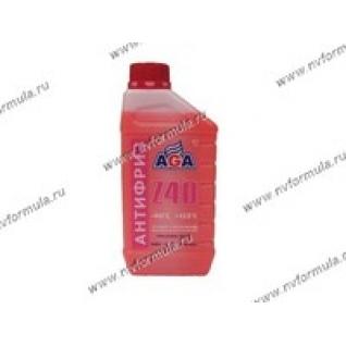 Антифриз AGA-40 001Z 1кг красный