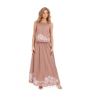 Indiano Natural Комплект (юбка, блузка) из хлопка 16021/16140-4c