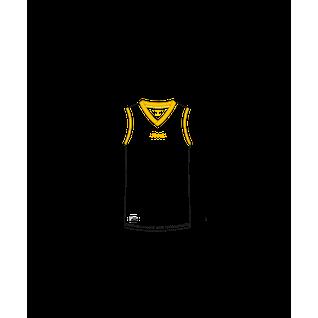 Майка баскетбольная Jögel Jbt-1020-014, белый/желтый, детская размер YL