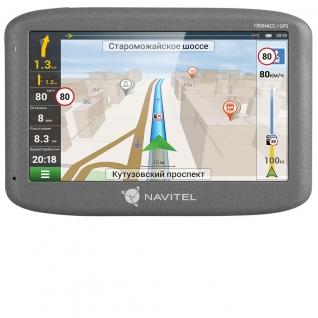 Спутниковый GPS навигатор Navitel G500 (+ Разветвитель в подарок!)