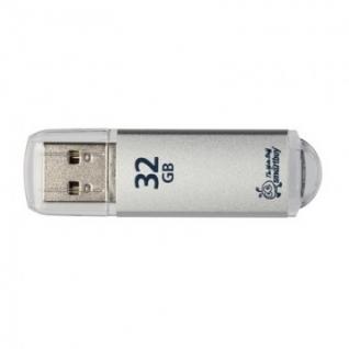 Флеш-память Smartbuy 32GB V-Cut Silver