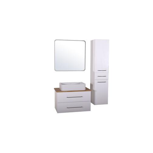 Подстолье Санди 80 (Белый / дуб) ASB-Woodline 38117079