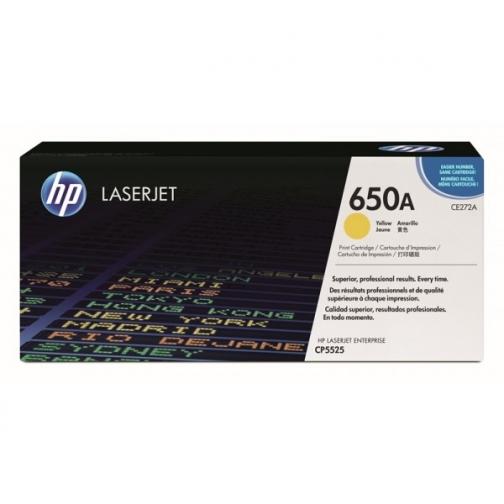 Оригинальный картридж HP CE272A для HP Сolor LJ СP5525, жёлтый, 15000 стр. 857-01 Hewlett-Packard 852451 1
