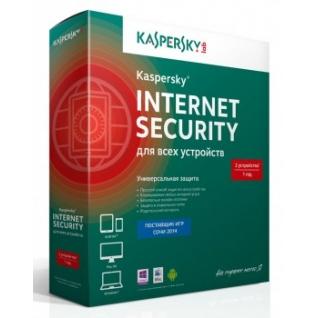 Kaspersky Lab Антивирусная программа Kaspersky Internet Security Multi-Device Russian Edition. 2-Device 1 year Bas