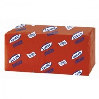 Салфетки бумажные Luscan Profi Pack 1сл24х24 красные400шт/уп