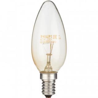 Электрическая лампа Philips свеча/прозрачная 40W E14 CL/B35 (10/100)