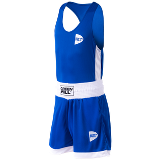 Форма боксерская Green Hill Interlock Bsi-3805, синий размер S