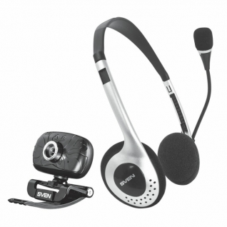 Веб-камера Sven камера + гарнитура ICH-3500
