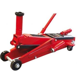 Домкрат подкатной 3 т с вращ.ручкой гидравлический (h min 130мм, h max 410мм) Big Red