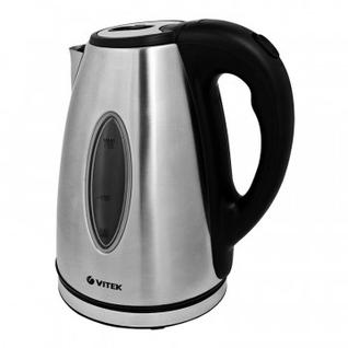 Чайник Vitek VT-7019, 2200 Вт, 1,7л,металл