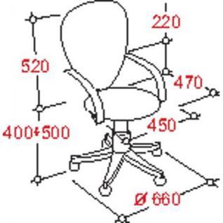 Кресло UP_EChair-203 PTW net ткань черная, сетка черная, хром
