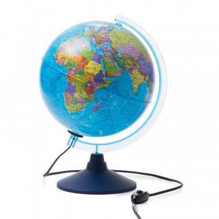 Глобус политический с подсветкой 250мм Классик Евро Ке012500190