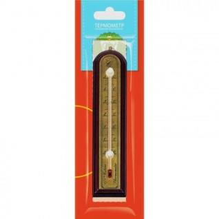 Термометр комнатный, красное дерево 188x39мм, 466112