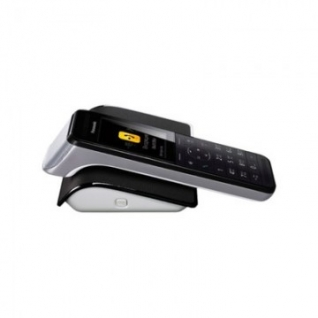 Радиотелефон Panasonic KX-PRW120RUW (WiFi, до 4 смартaонов ) черно-белый