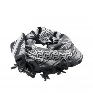 Made in Germany Шемаг черно-белого цвета, с изображением черепов