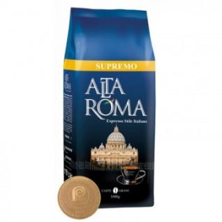 Кофе Altaroma Supremo в зернах, 1 кг