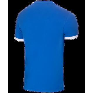 Футболка тренировочная детская Jögel Jct-1040-071, хлопок, синий/белый, детская размер YM