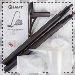 Пароочиститель Bort BDR-2500-RR (91279910)