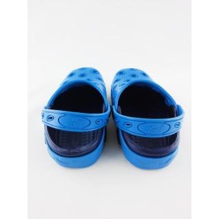 610-1 кроксы синие для мальчика.дюна 24-29 (24) Дюна