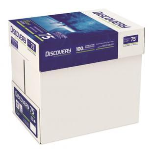 Бумага для ОфТех Discovery (А4,75г,161%CIE) пачка 500л.