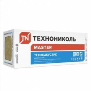 Теплоизоляция Техноакустик 600х1200х100 мм /6 шт/4,32 м2/0,432 м3 в уп/ /40кг/м3/