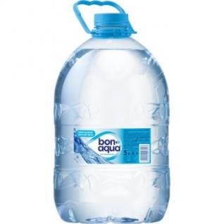 Вода питьевая Bon Aqua ПЭТ 5,0л негаз. 4 шт/уп