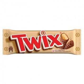 Шоколадный батончик Twix 55г
