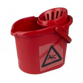 Ведро с отжимом 12л МВК7 R красное