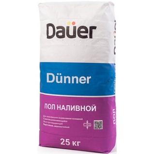ДАУЭР Дюннер финишный самовыравнивающийся наливной пол (25кг) / DAUER Dunner финишный самовыравнивающийся наливной пол (25кг) Дауэр