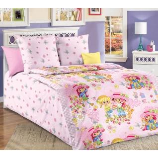 Комплект детского постельного белья 1,5-спальный Девчата, бязь