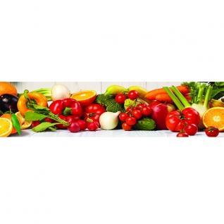 Фартук для кухни Овощи 600х2440мм