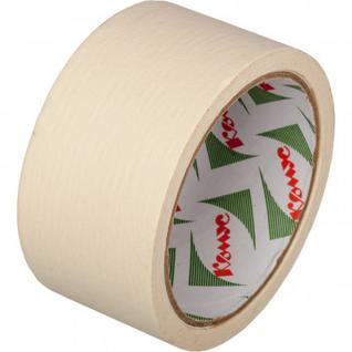 Клейкая лента бумажная (малярная) Комус 48мм х 19м
