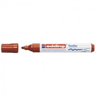 Маркер для текстиля Edding E-4500, коричневый_007