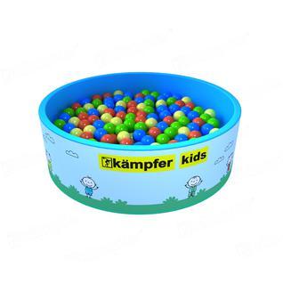 KAMPFER Сухой бассейн Kampfer Kids розовый + 200 шаров
