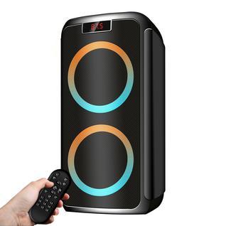 Ginzzu Ginzzu GM-202, Акустическая система Midi, RGB/BT/USB/SD/FM/ДУ