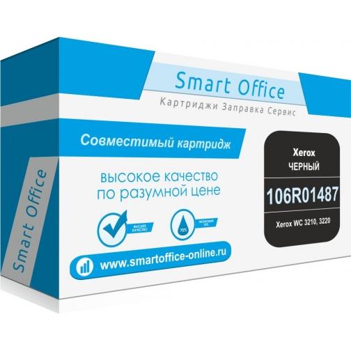 Совместимый картридж 106R01487 для Xerox WC 3210, 3220 (чёрный, 4100 страниц) 4425-01 Smart Graphics 851904 1